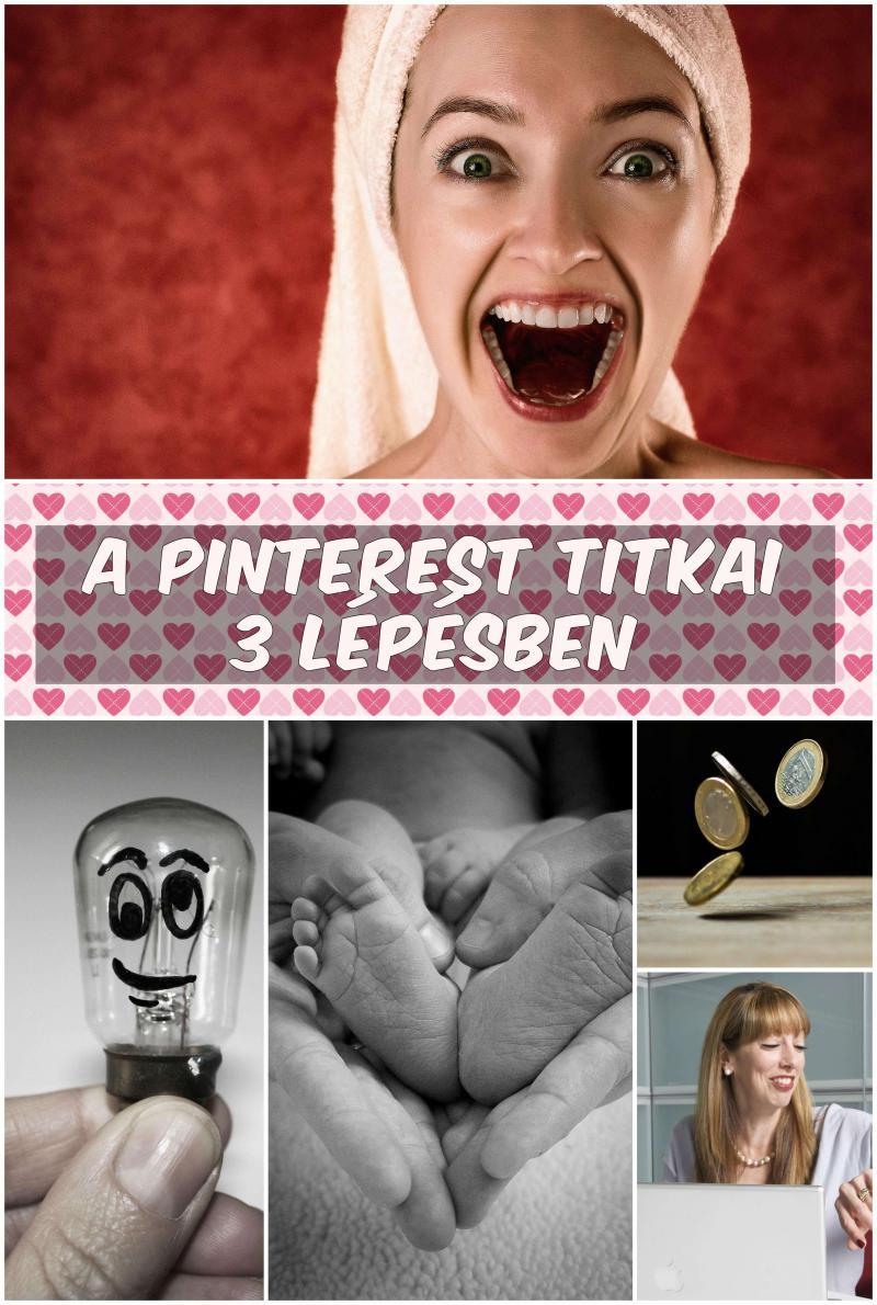 3 lépés + Pinterest = Sok-sok látogató