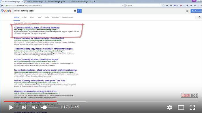 Egyre több látogatót hoz a Google, ha jó cimet adsz a tartalmadnak
