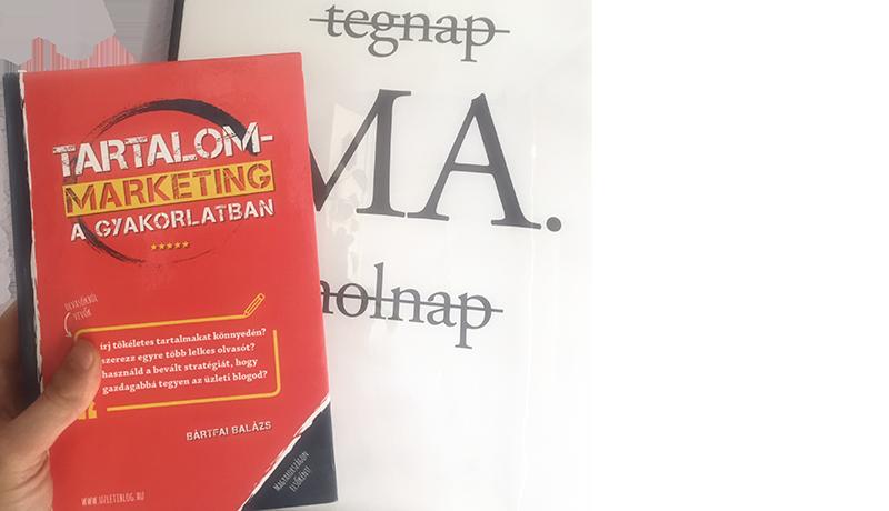 A tökéletes Sales szöveg a Tartalommarketing könyvhöz