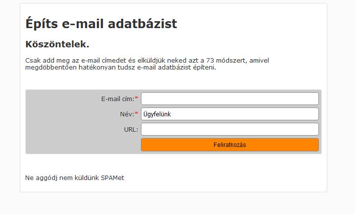 11 Módszer, Hogyan Gyűjts E-mail Címeket a Honlapoddal